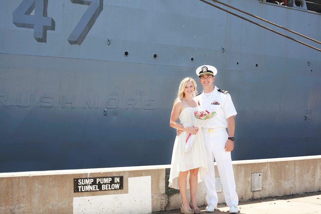 Goss Family: Navy Homecoming Photographer