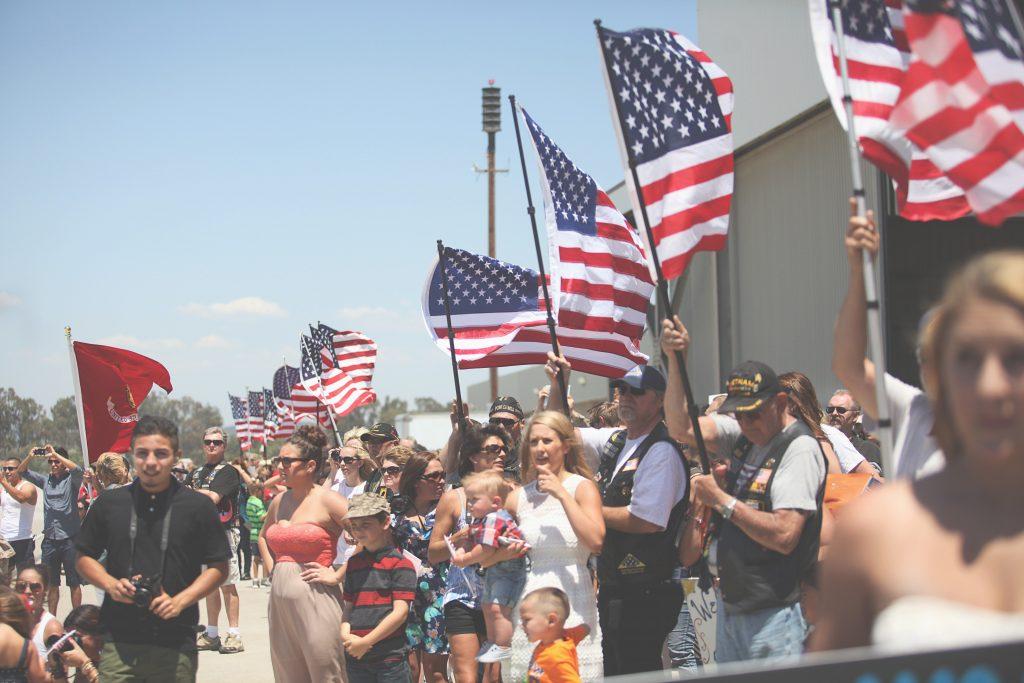 Johnson Family: Camp Pendleton Homecoming Photographer