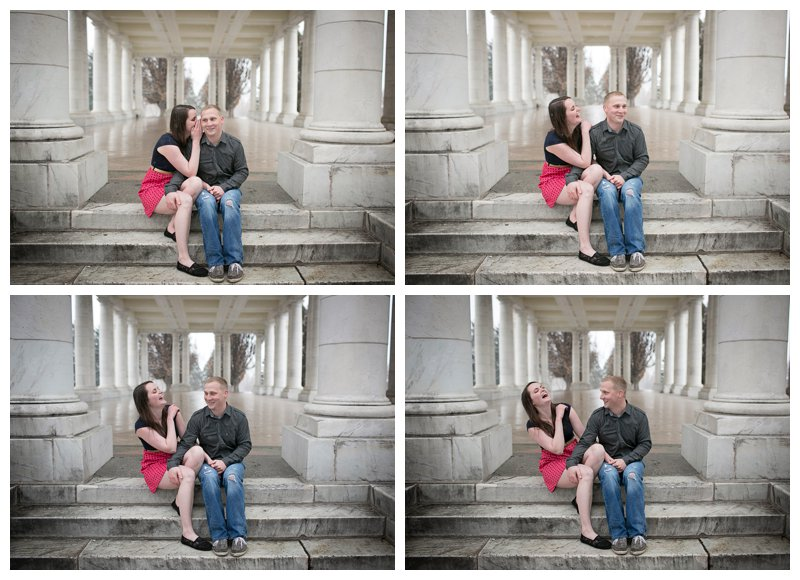 cheesman park engagement photography