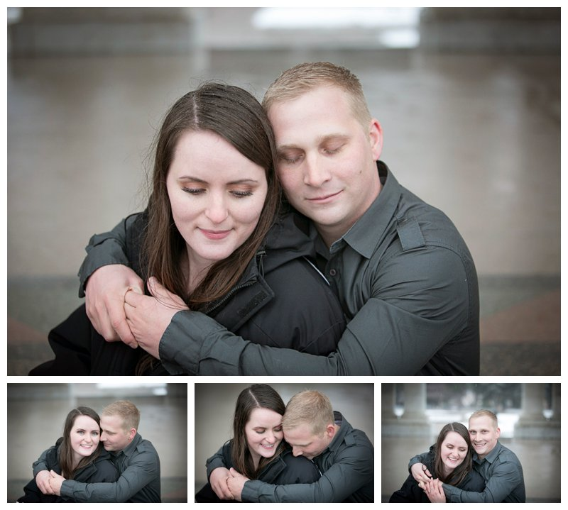 denver, photo, engagement winter